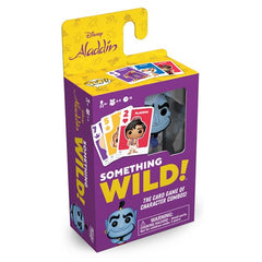 Disney Something Wild Pop! Card Game Aladdin Genie