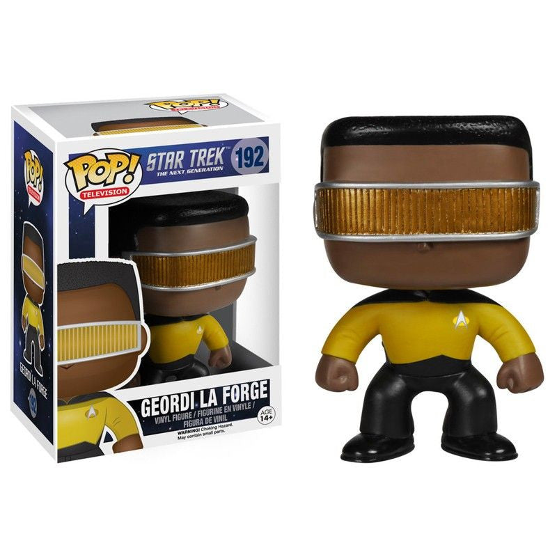 Star Trek The Next Generation Pop! Vinyl Figure Geordi la Forge - Fugitive Toys