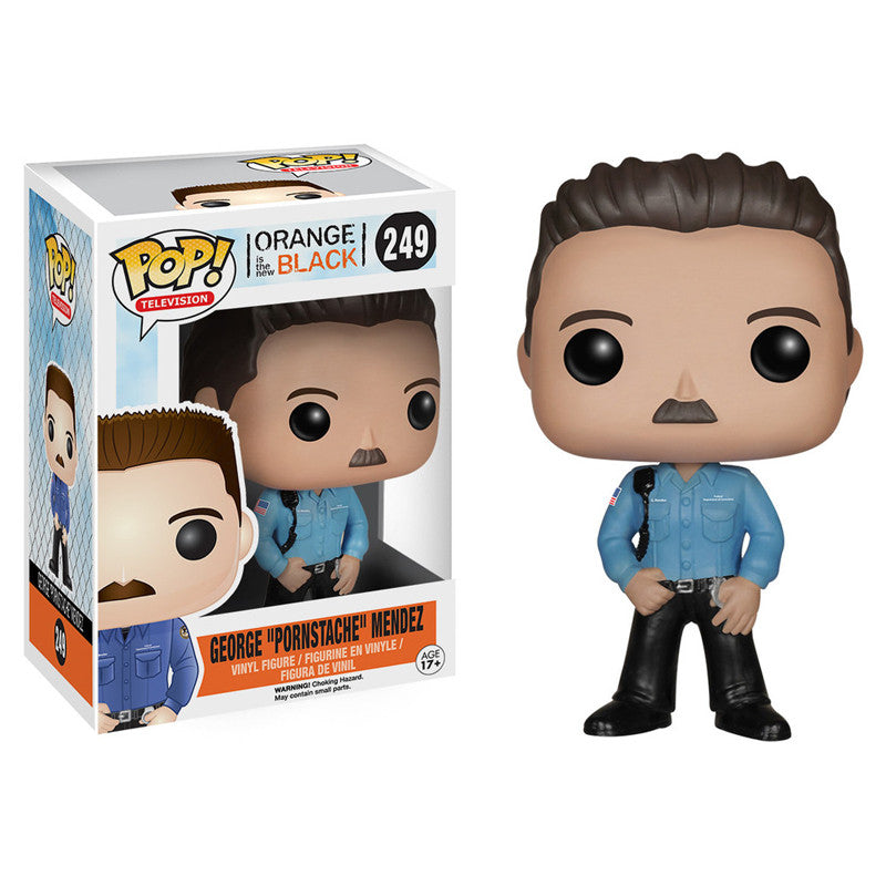 Orange is the New Black Pop! Vinyl Figure George 'Pornstache' Mendez