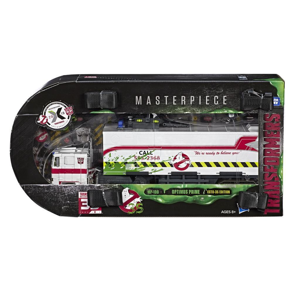 Hasbro Transformers x Ghostbusters MP-10G Optimus Prime Ecto-35 [2019 SDCC]