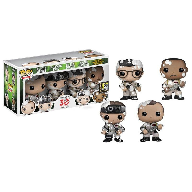 Movies Pop! Vinyl Figure Marshmallow Splattered Ghostbusters [SDCC 2014 Exclusive]