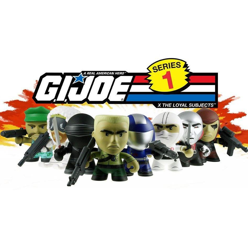 The Loyal Subjects G.I. Joe  Mini Series 1 (1 Blind Box) - Fugitive Toys
