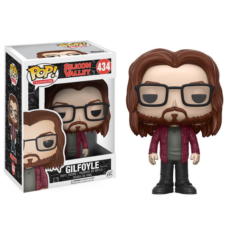 Silicon Valley Pop! Vinyl Figure Gilfoyle