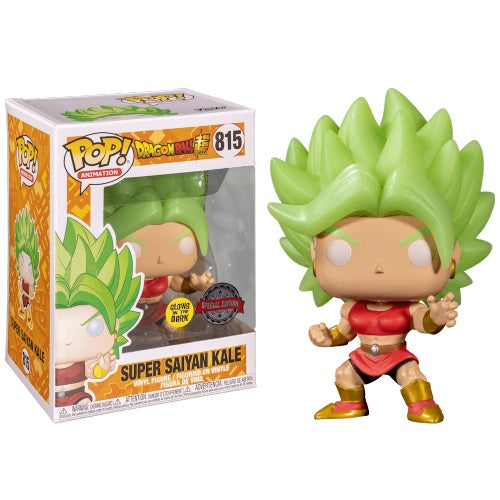 Dragon Ball Super Pop! Vinyl Figure Super Saiyan Kale (GITD) [815]