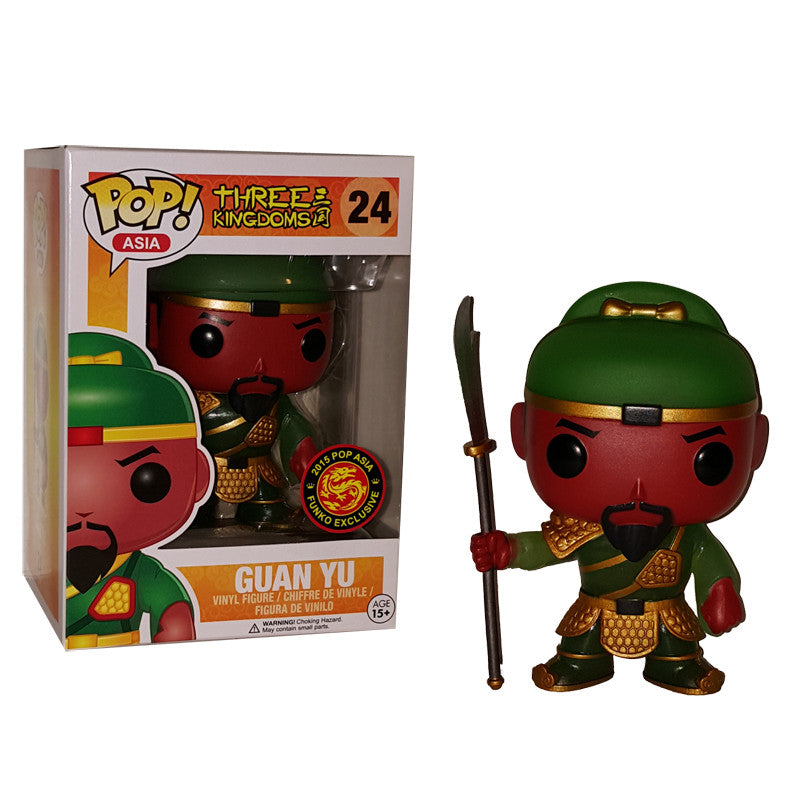 Asia Pop! Vinyl Figure Glow in the Dark Guan Yu [Three Kingdoms] Exclusive - Fugitive Toys