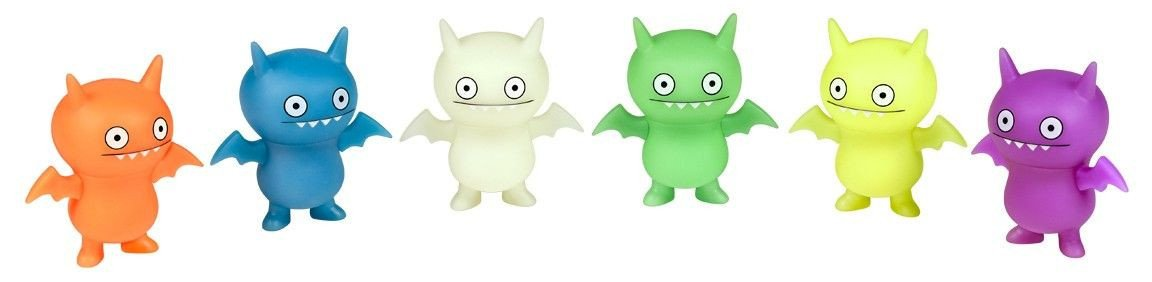 Uglydoll Glow In The Dark Ice-Bat Action Figures (1 Blind Box) - Fugitive Toys