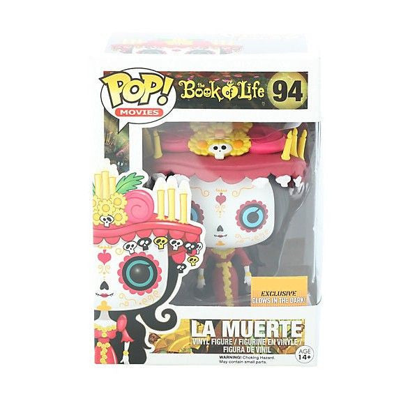 Movies Pop! Vinyl Figure Glow in the Dark La Muerte [The Book of Life] Exclusive