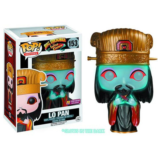 Movies Pop! Vinyl Figure Glow in the Dark Lo Pan [Big Trouble in Little China] Previews Exclusive