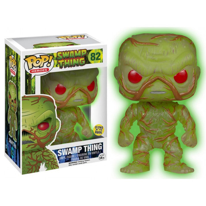 DC Universe Pop! Vinyl Figure Glow in the Dark Swamp Thing [Previews Exclusive]