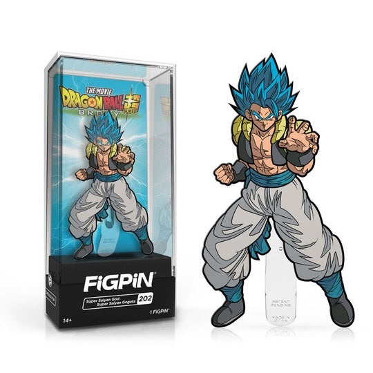 Dragon Ball Super: Broly FiGPiN Enamel Pin Super Saiyan God Super Saiyan Gogeta [202]
