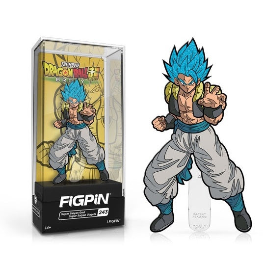 Dragon Ball Super: Broly FiGPiN Enamel Pin Super Saiyan God Super Saiyan Gogeta [243]