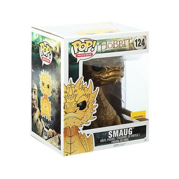 Movies Pop! Vinyl Figure Gold Smaug [The Hobbit: The Battle of the Five Armies] Exclusive