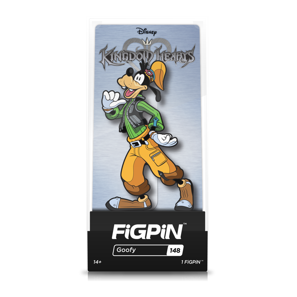 Disney Kingdom Hearts: FiGPiN Enamel Pin Goofy [148]