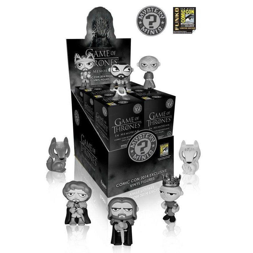 Game of Thrones In Memoriam Mystery Minis: Brown Carton [SDCC 2014 Exclusive] (Case of 12)