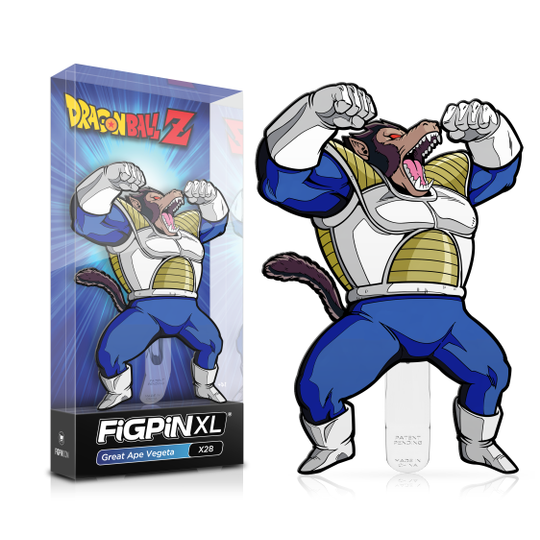 Dragon Ball Z: FiGPiN XL Enamel Pin Great Ape Vegeta [X28] - Fugitive Toys