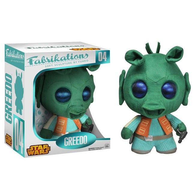 Fabrikations Soft Sculpture by Funko: Greedo