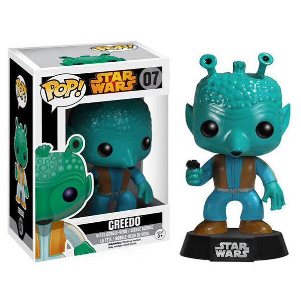 Star Wars Pop! Vinyl Bobblehead Greedo [Re-Release]