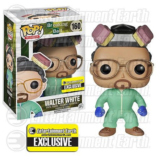 Breaking Bad Pop! Vinyl Figure Walter White [Green Cook Outfit] Entertainment Earth Exclusive