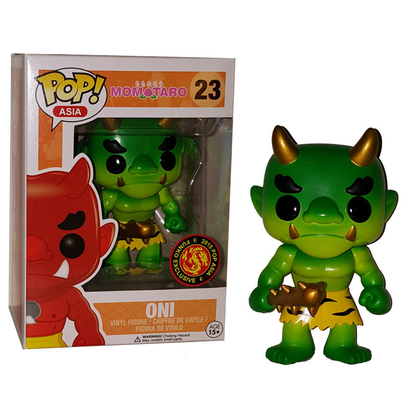 Asia Pop! Vinyl Figure Green Oni [Momotaro] Exclusive