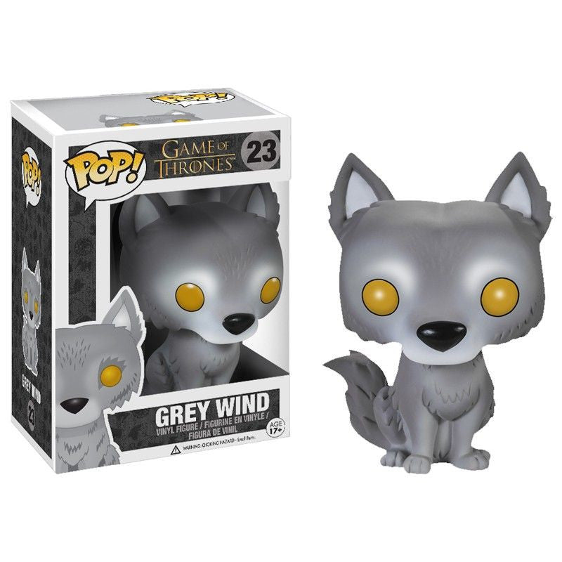 Game of Thrones Pop! Vinyl Figure Grey Wind [Exclusive]