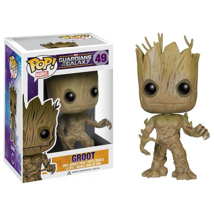 Marvel Guardians of the Galaxy Pop! Vinyl Bobblehead Groot