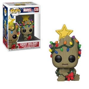 Marvel Pop! Vinyl Figure Holiday Groot [530]