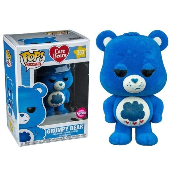 Care Bears Pop! Vinyl Figure Grumpy Bear (Flocked) [353]