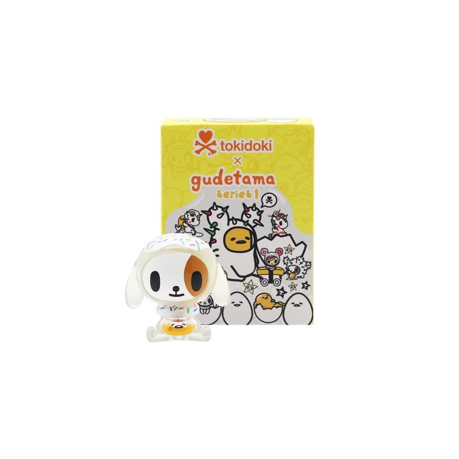 Tokidoki x Gudetama Series 1 [Box Package]: (1 Blind Box)