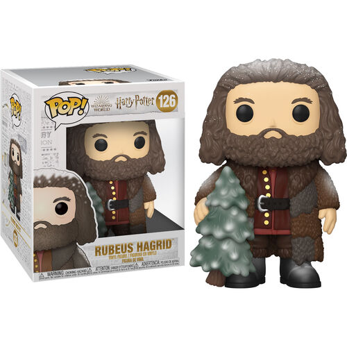 Harry Potter Pop! Vinyl Figure Holiday Hagrid (6-Inch) [126]