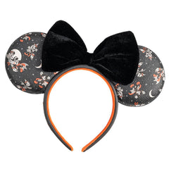 Loungefly x Disney Mickey Vampire and Witch Minnie Halloween Ears Headband - Fugitive Toys