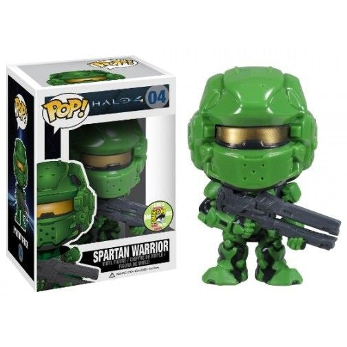 Halo 4 Pop! Vinyl Figure Spartan Warrior Green [SDCC 2013 Exclusive]