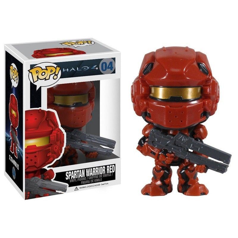 Halo 4 Pop! Vinyl Figure Spartan Warrior Red [04]