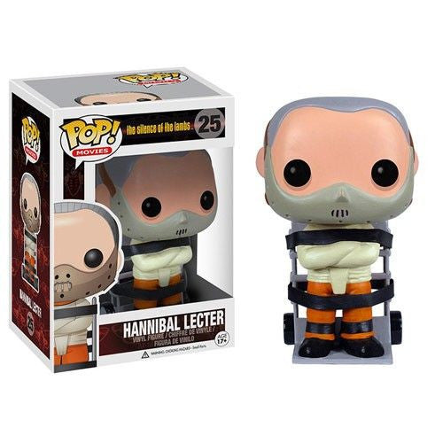 Movies Pop! Vinyl Figure Hannibal Lecter [The Silence of the Lambs] [25] - Fugitive Toys