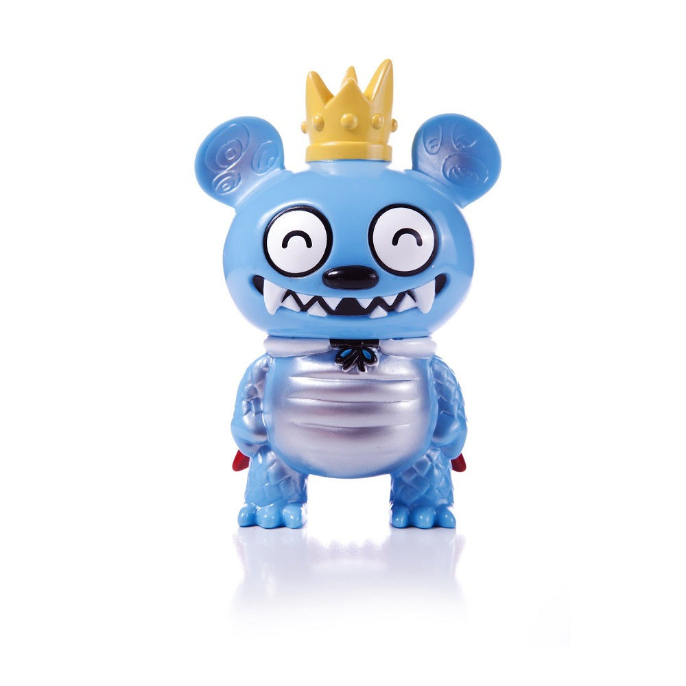 Bossy Bear Kaiju Blue (Happy Eyes) Strange Beast Collection - Fugitive Toys