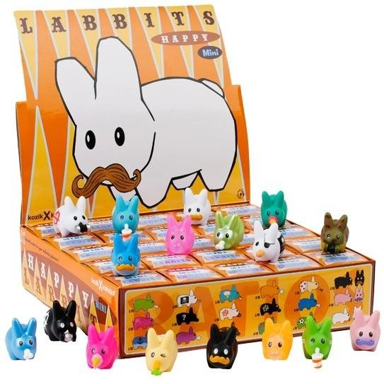 Kidrobot Happy Labbit Mini Series (Case of 25)