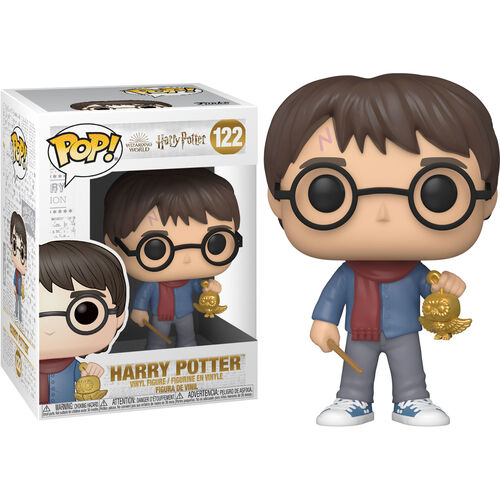 Harry Potter Pop! Vinyl Figure Holiday Harry Potter with Golden Owl [122]