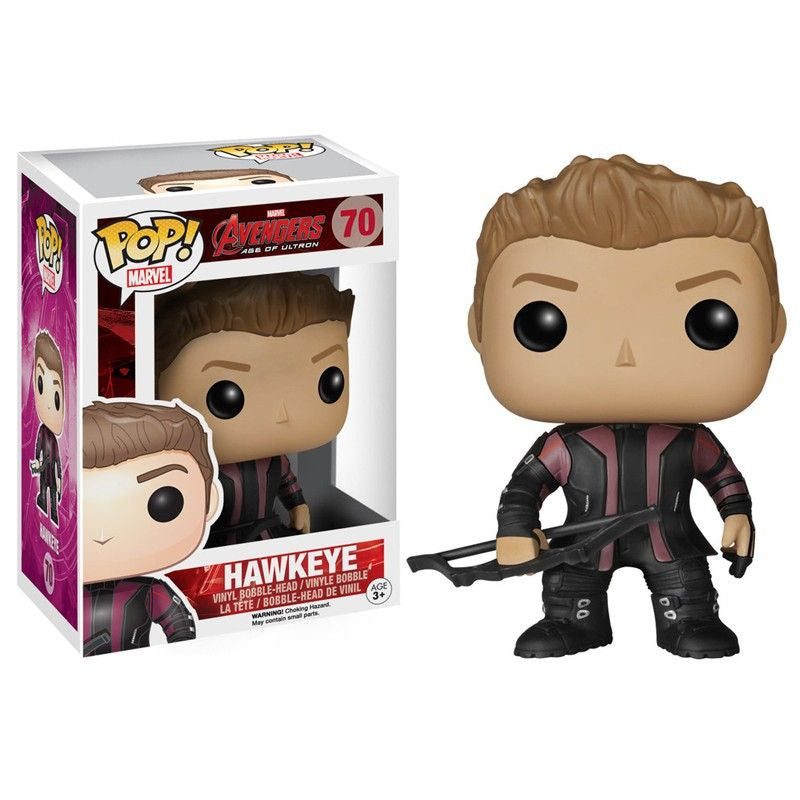 Marvel Avengers: Age of Ultron Pop! Vinyl Bobblehead Hawkeye - Fugitive Toys