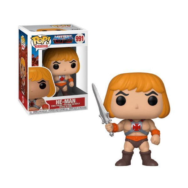 Masters of the Universe Pop! Vinyl Figure He-Man [991]