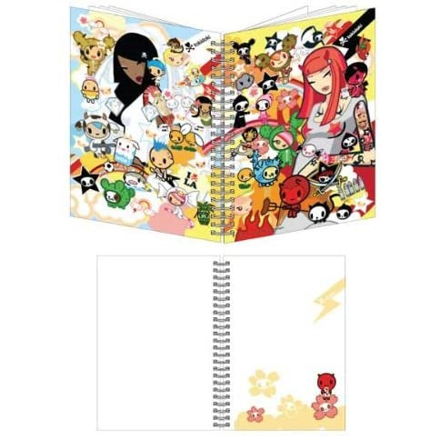 Tokidoki Heaven vs. Hell Small A6 Spiral Bound Notebook