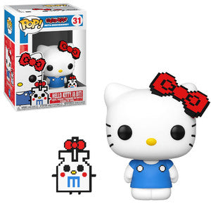 Sanrio Pop! Vinyl Figure Anniversary Hello Kitty (8-bit) [31] - Fugitive Toys