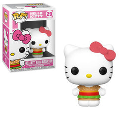 Sanrio Pop! Vinyl Figure Hello Kitty (Kawaii Burger Shop) [29] - Fugitive Toys