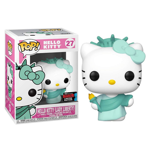 Hello Kitty Pop! Vinyl Figure Hello Kitty (Lady Liberty) (Fall 2019 Convention) [27]