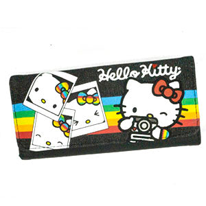 Loungefly x Hello Kitty Rainbow Polaroid Tri-Fold Wallet