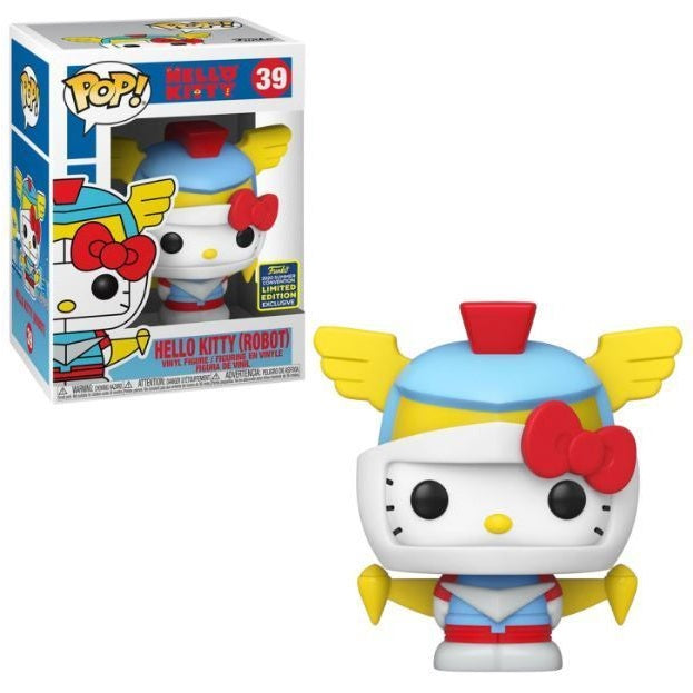 Sanrio Pop! Vinyl Figure Hello Kitty Robot (2020 Summer Convention Exclusive) [39]