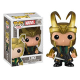 Marvel Pop! Vinyl Bobblehead Loki with Helmet [Thor] - Fugitive Toys