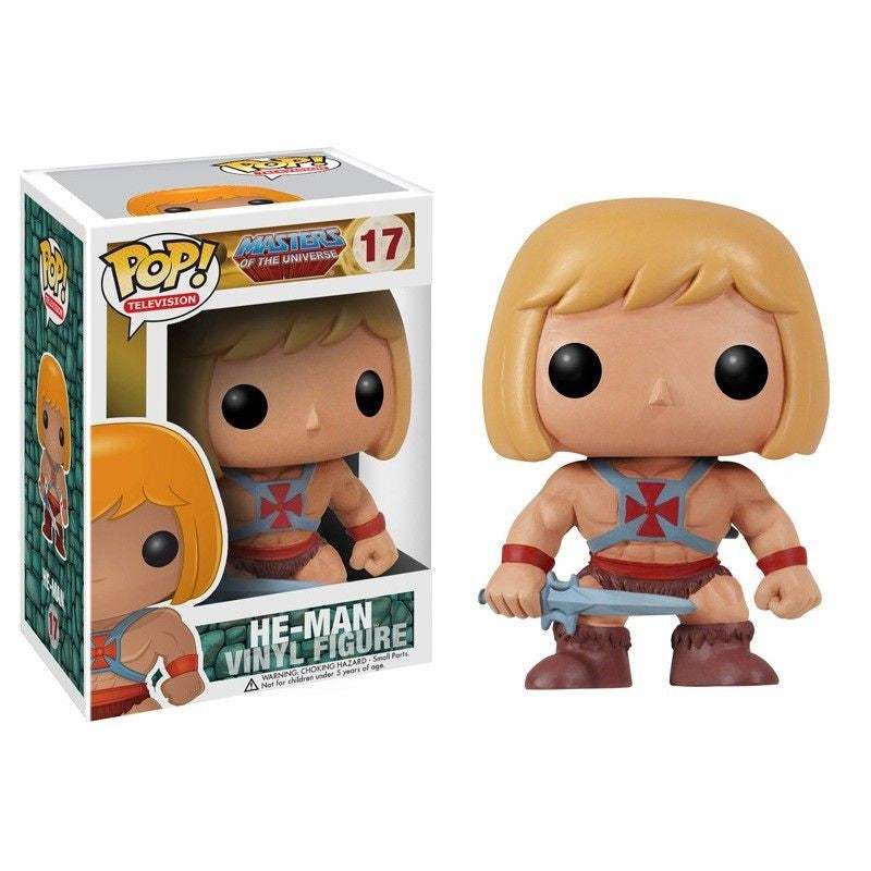 Masters of the Universe Pop! Vinyl Figure He-Man [17]