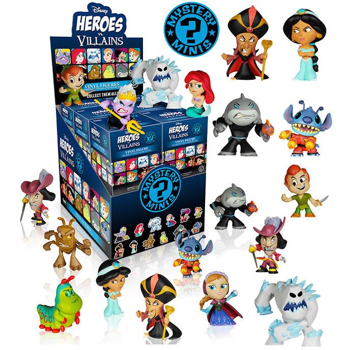 Disney Heroes vs. Villains Mystery Minis: (Case of 12)