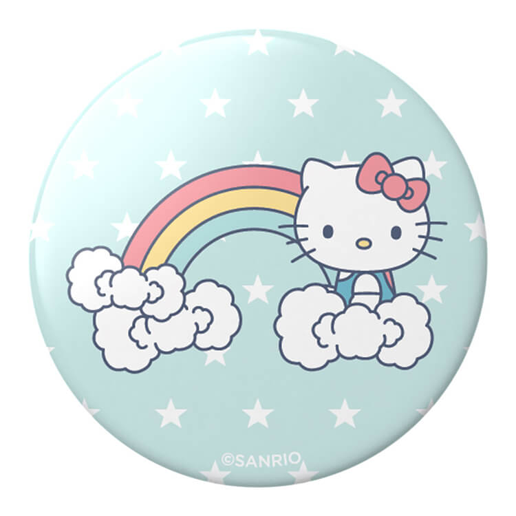 PopSockets Sanrio Hello Kitty Rainbow Cloud Bows
