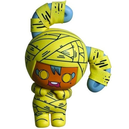 "Honeybaby Momo Yellow 7.5"" Vinyl Figure - Fugitive Toys"