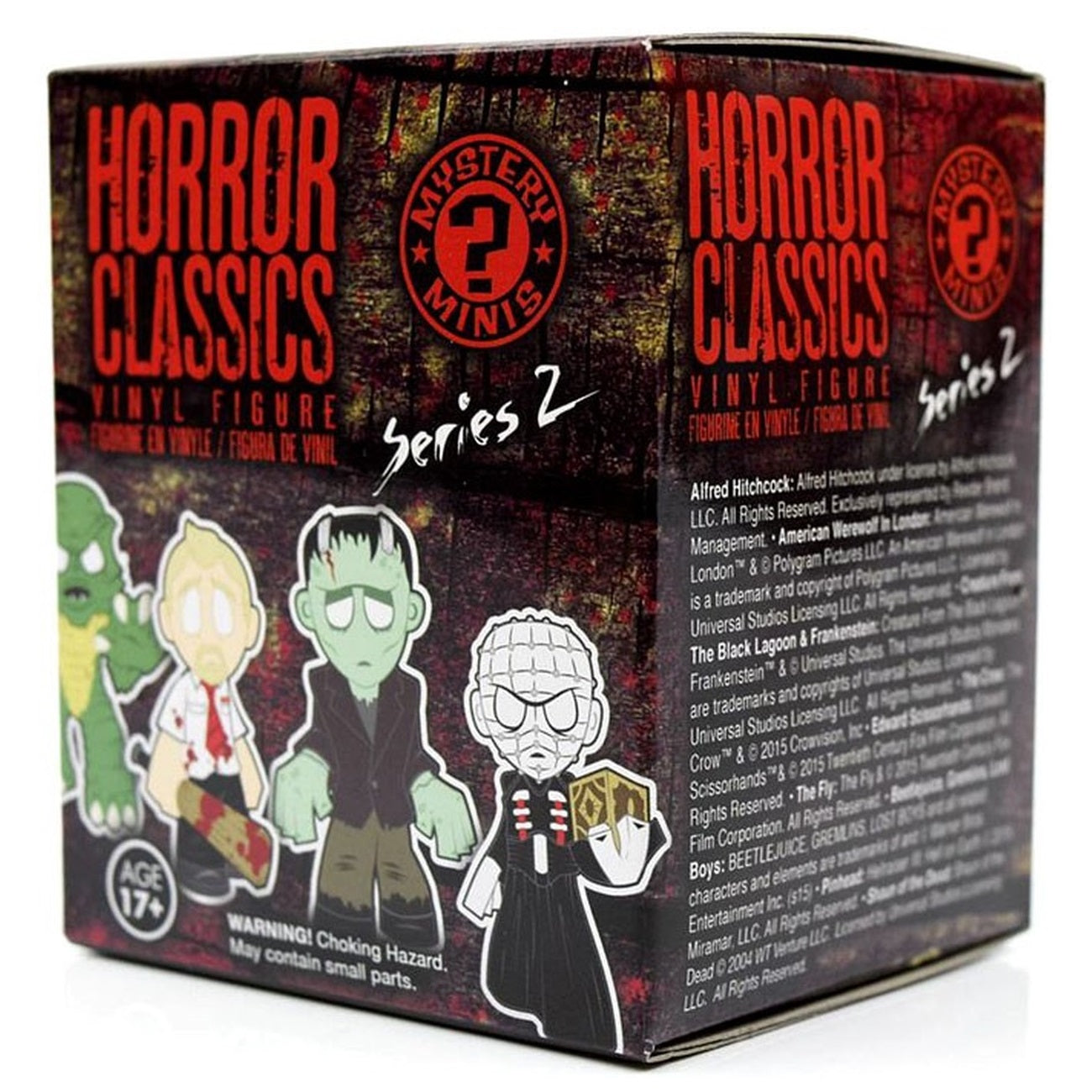 Horror Classics Series 2 Mystery Minis: (1 Blind Box) - Fugitive Toys